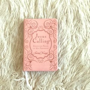 Leather Bound Jesus Calling Book by Sarah Young